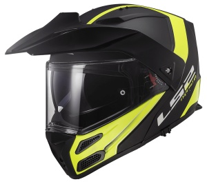 METRO EVO FF324 RAPID Matt Black H-V Yellow