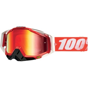 RACECRAFT FIRE RED MIRROR RED LENS