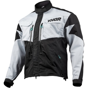 TERRAIN S9 OFFROAD JACKET Light Gray/Black