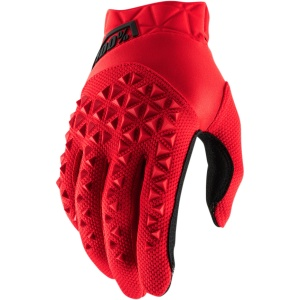 AIRMATIC GLOVES RED/BLACK