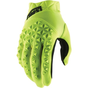 AIRMATIC JUNIOR GLOVES Fluo YELLOW Black